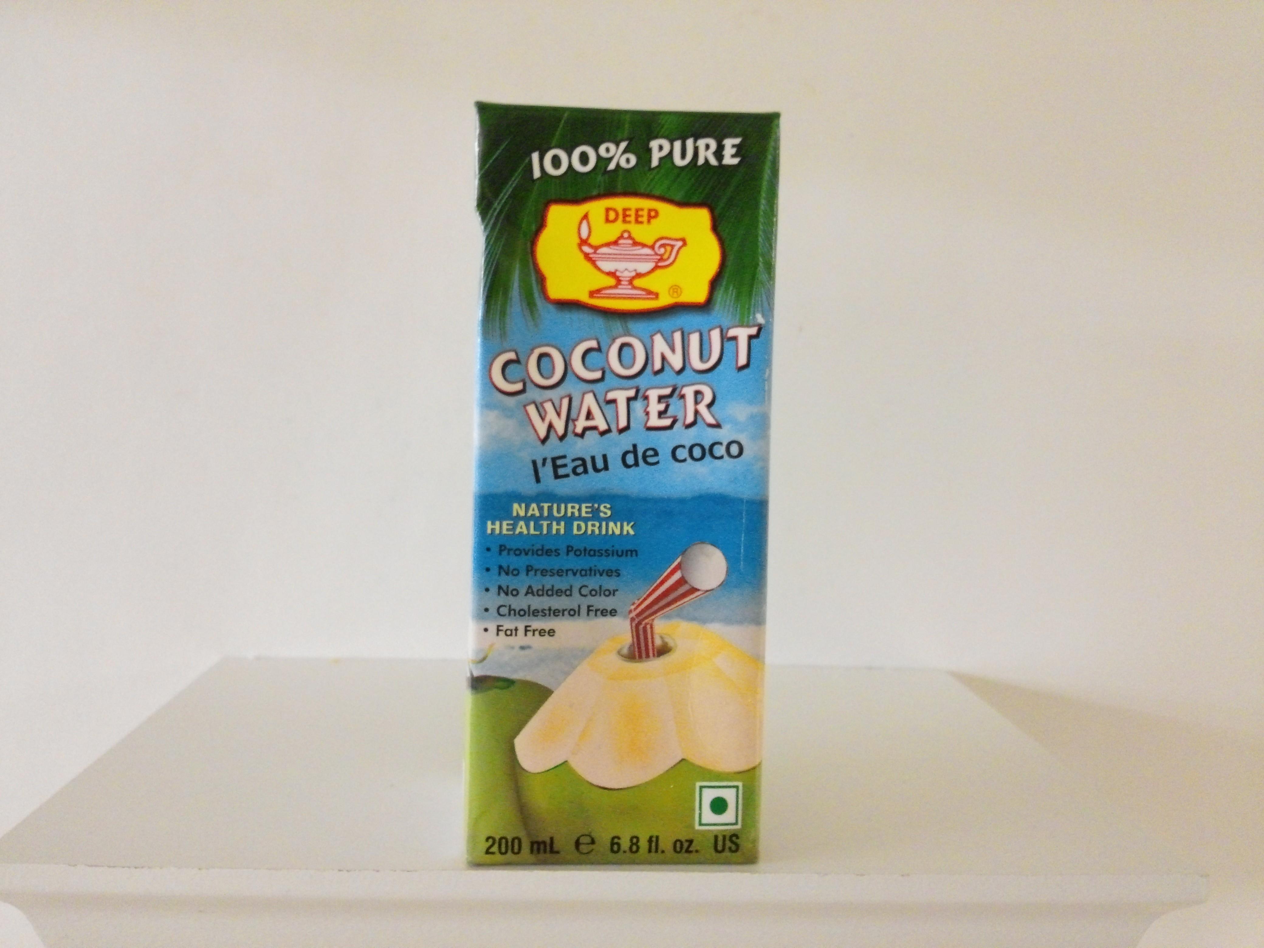 Deep Coconut Water 6.8 oz