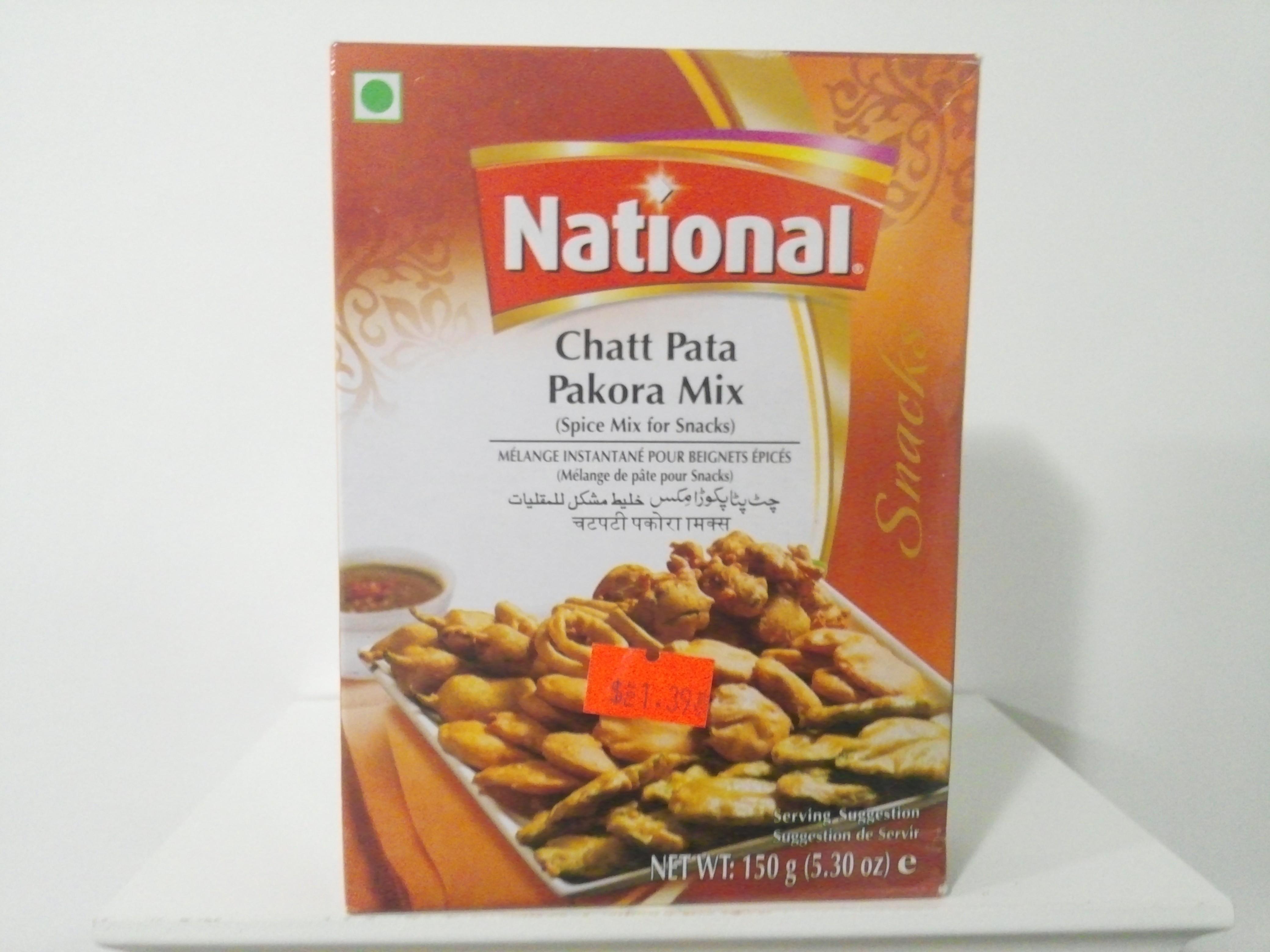 National Chat Pata Pakora Mix 150 grm