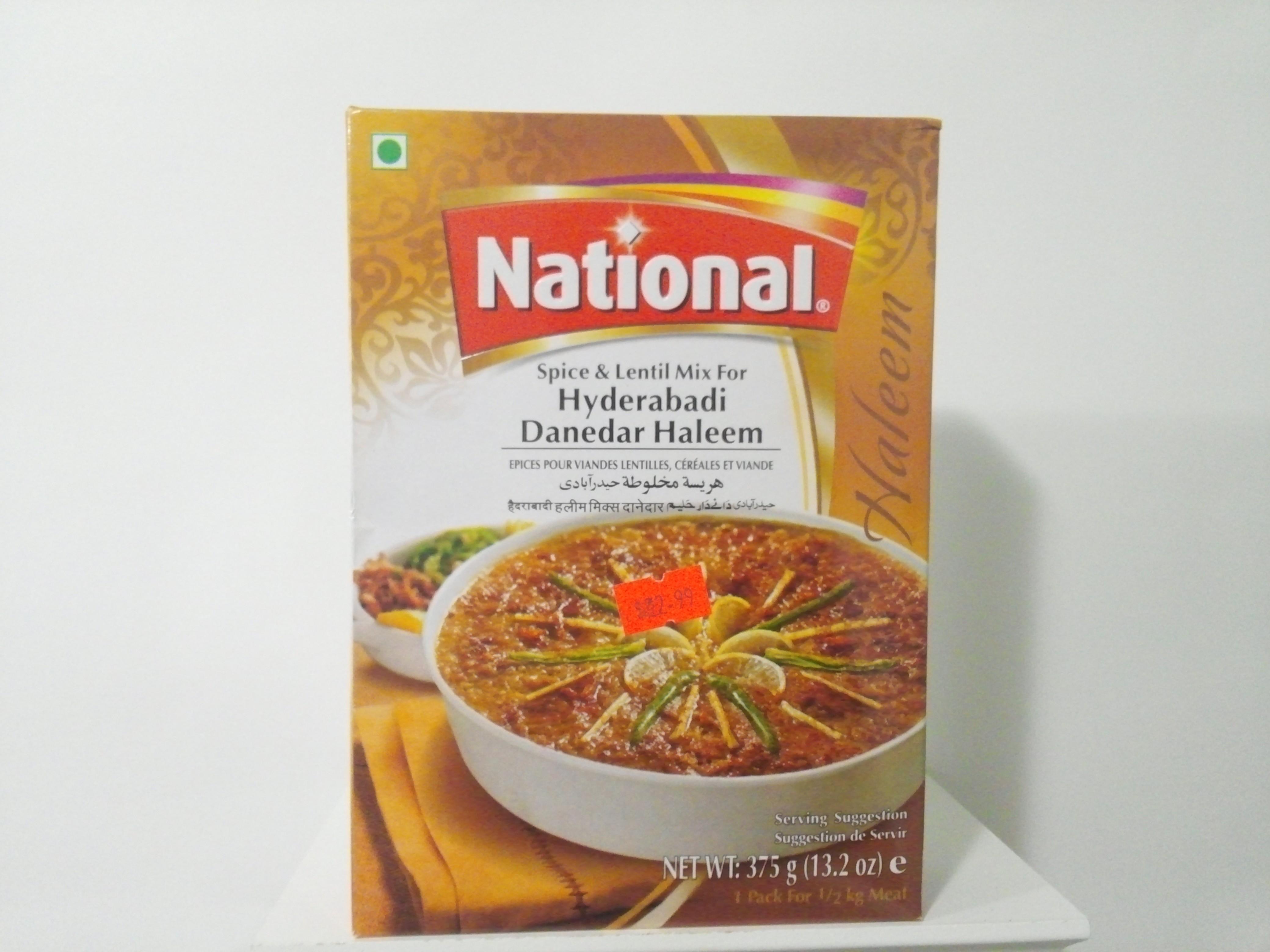 National Hyderabadi Danedar Haleem  Mix 375 grm