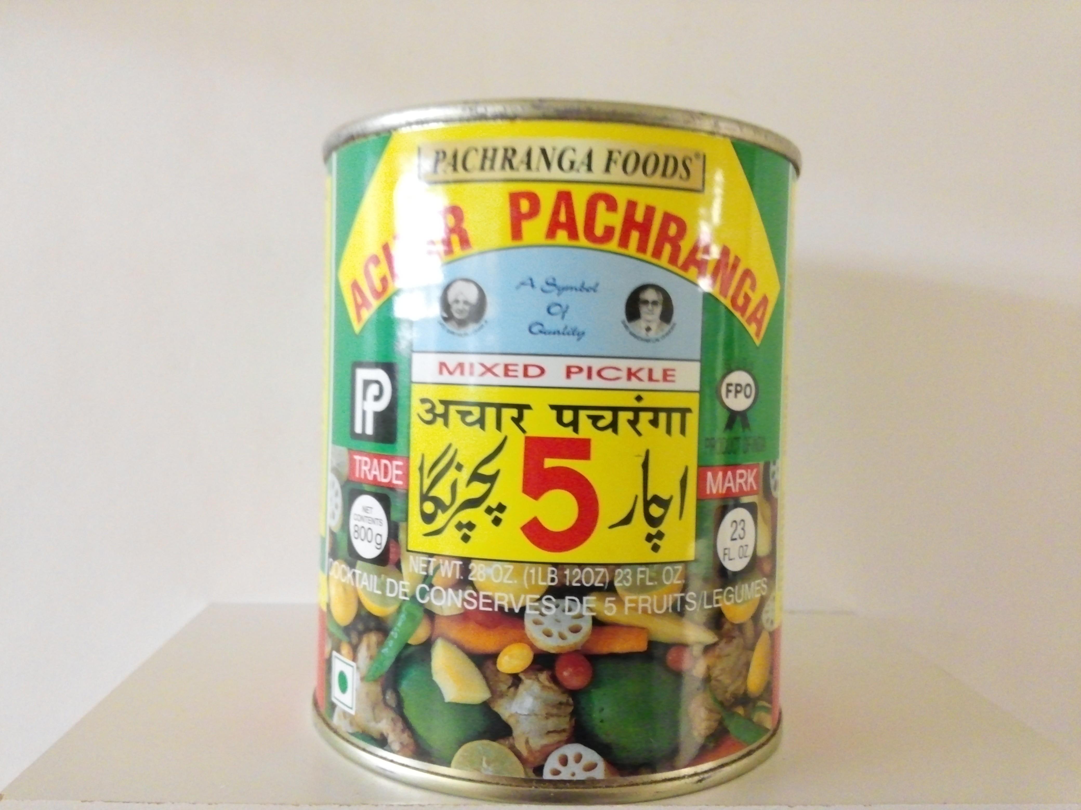 Pachranga Mixed Pickle 28 oz