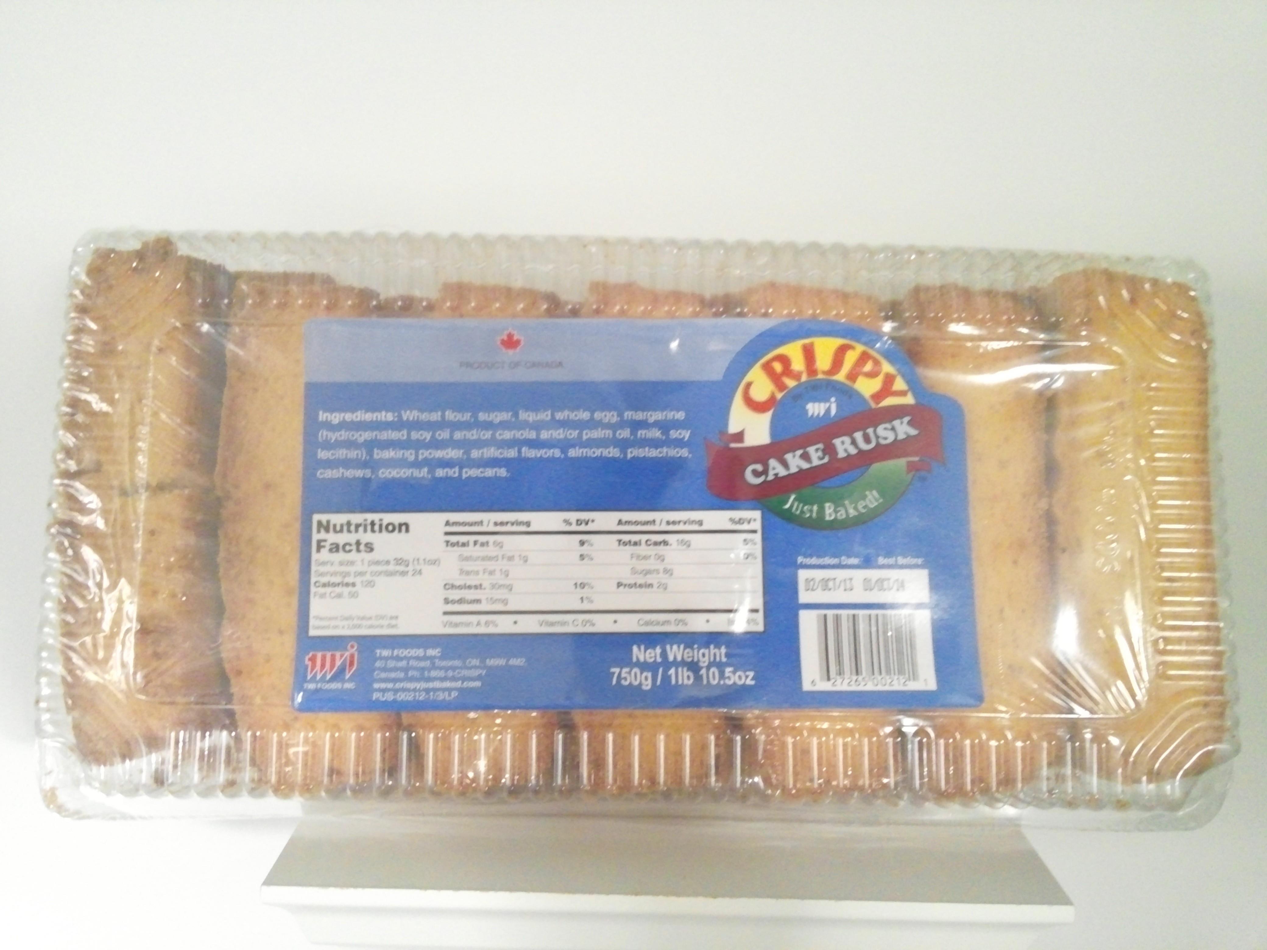 Crispy Cake Rusk 750 grm