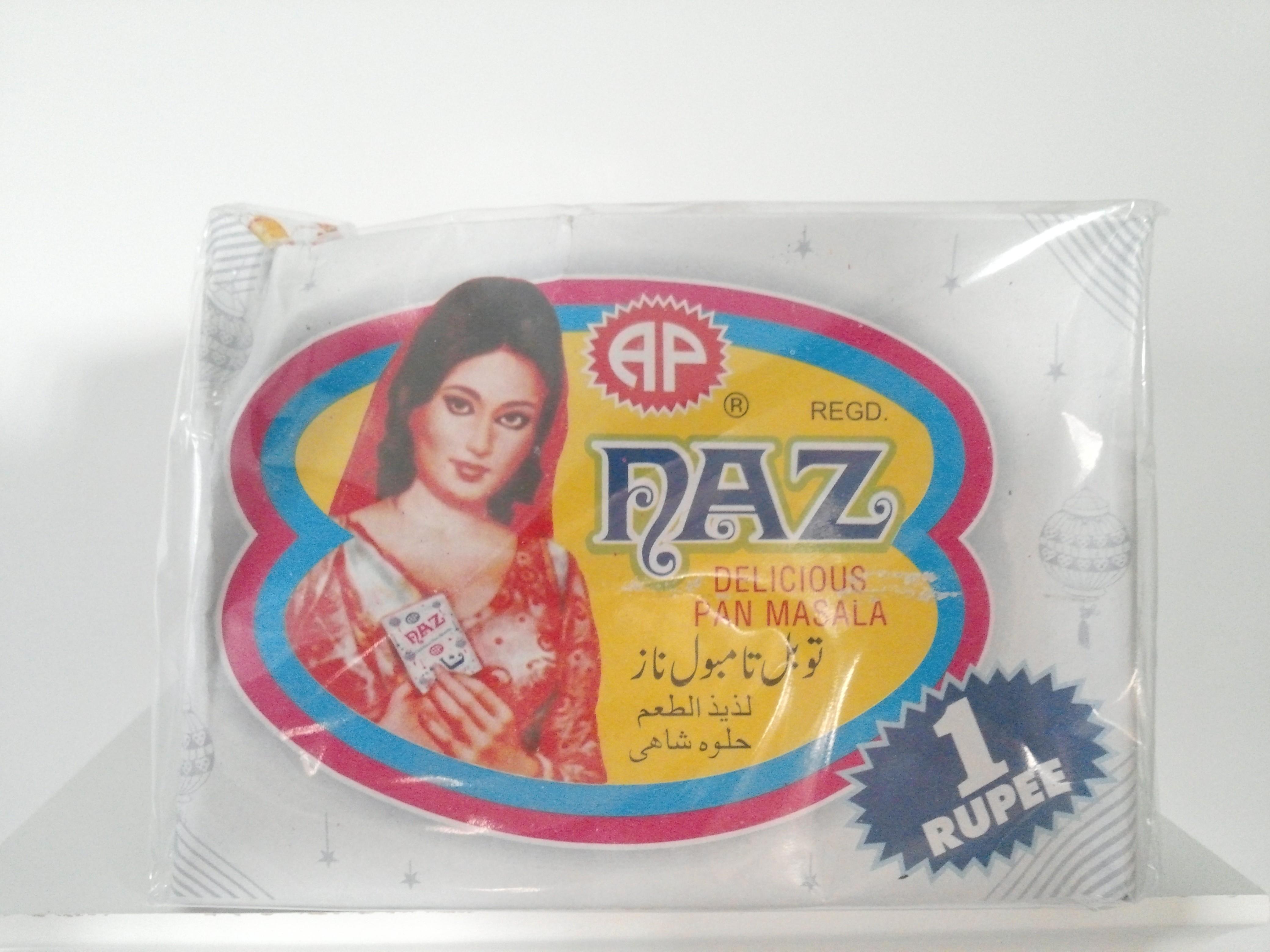 Naz Delicious Pan Masala 200 grm 48 Pack