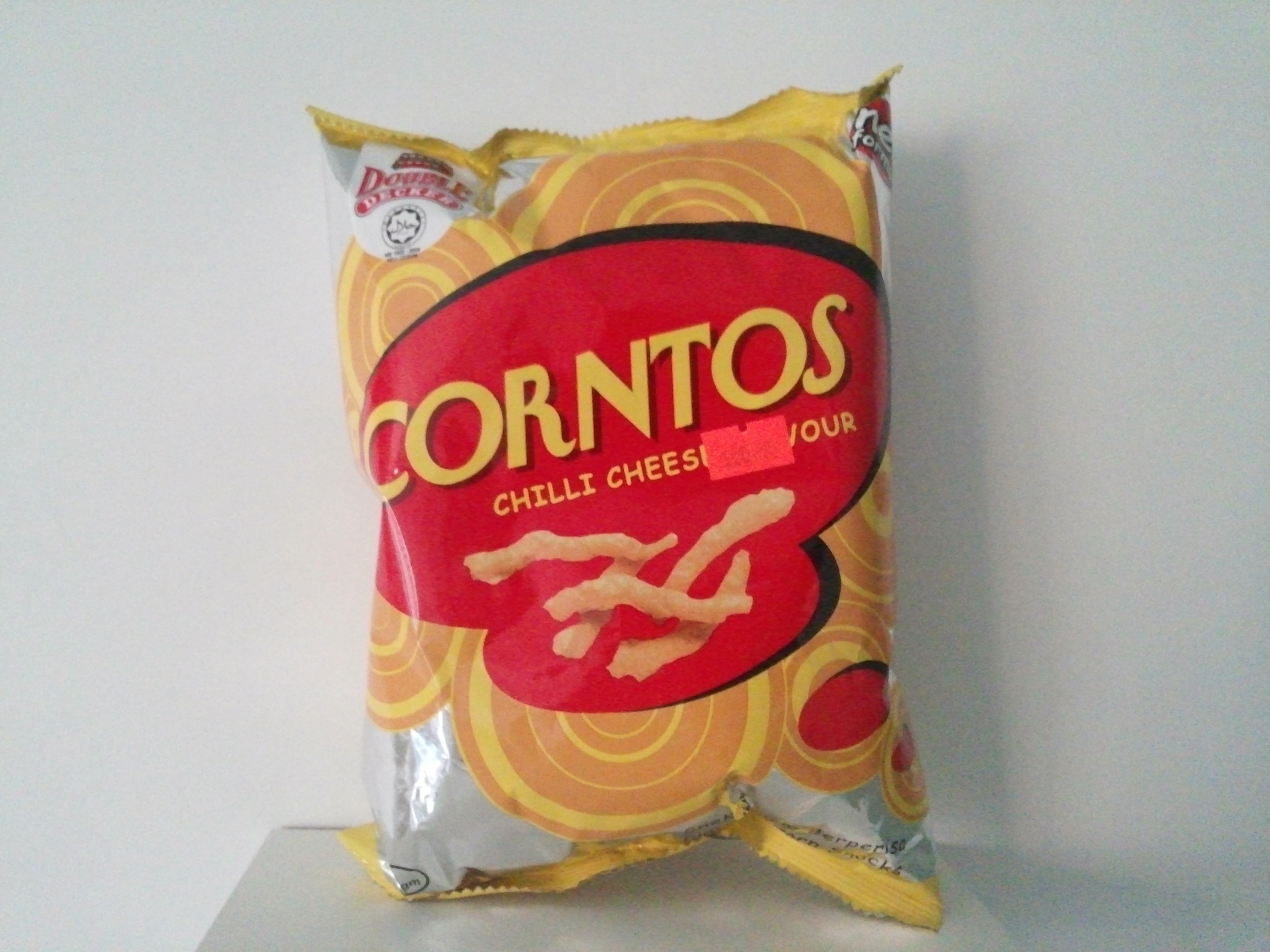 Corntos Chilli Cheese Flavour Corn Snack 70 grm