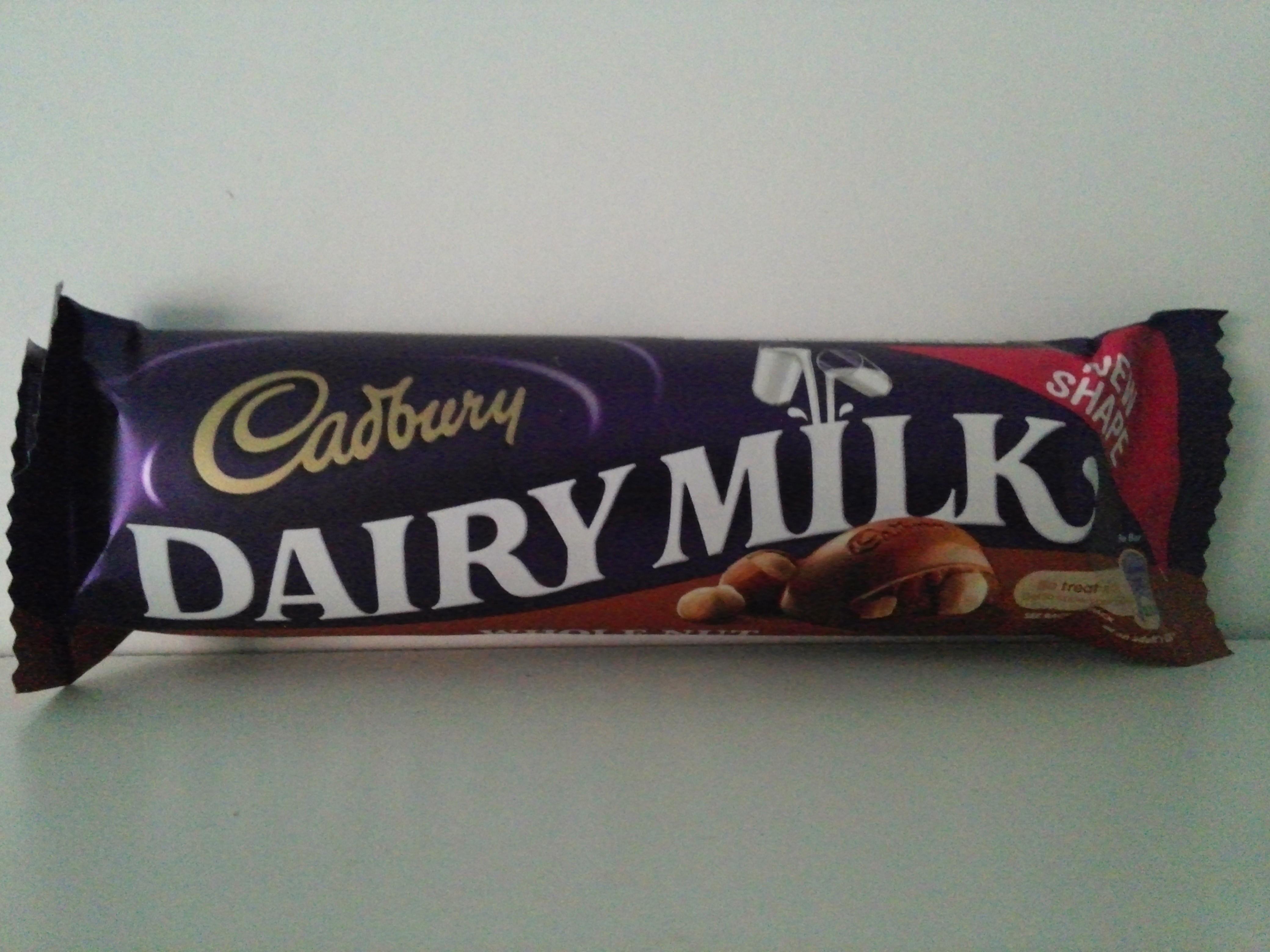 Cadbury Dairy Milk Whole Nut 45 grm