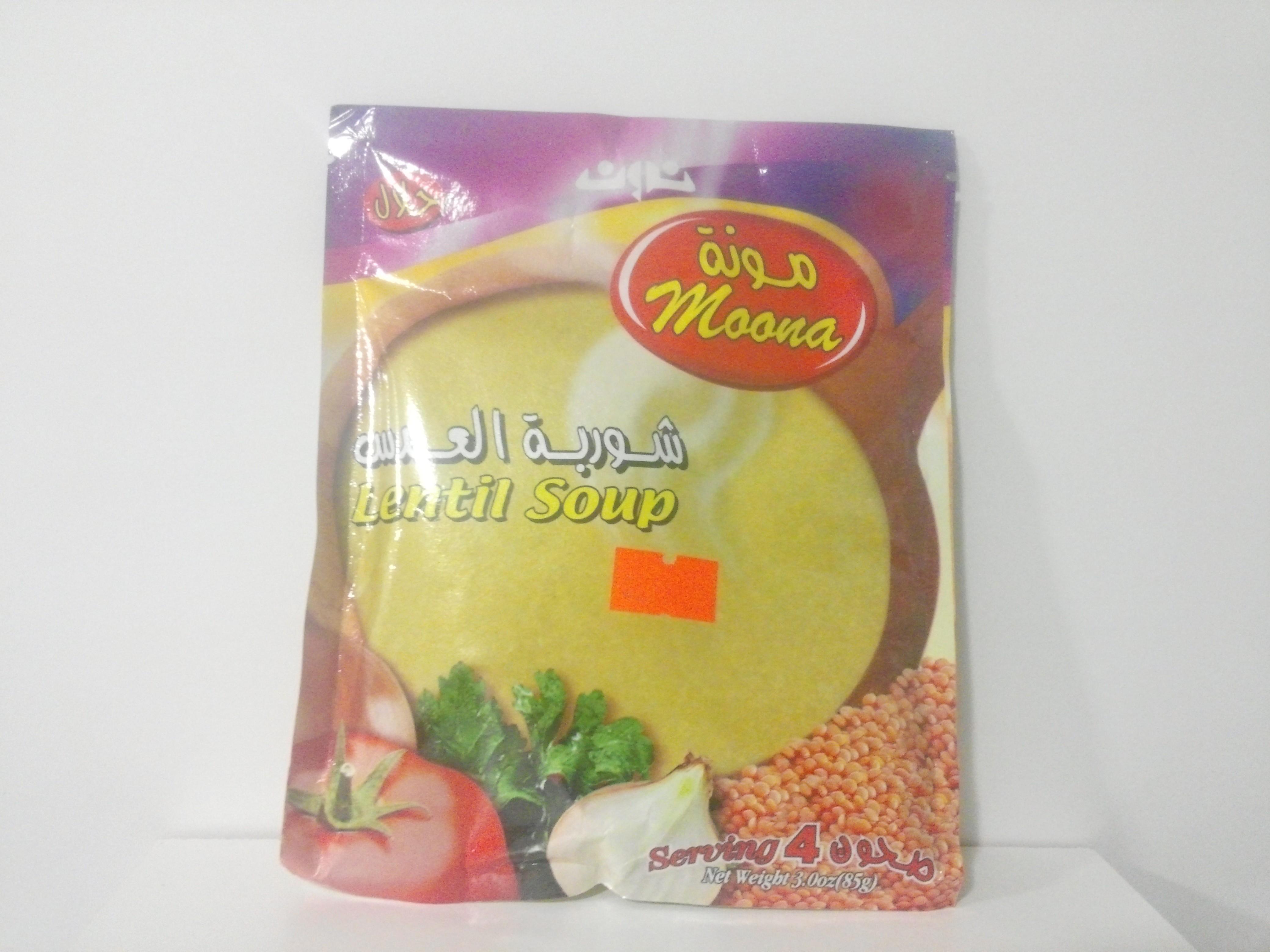 Moona Lentil Soup 85 grm