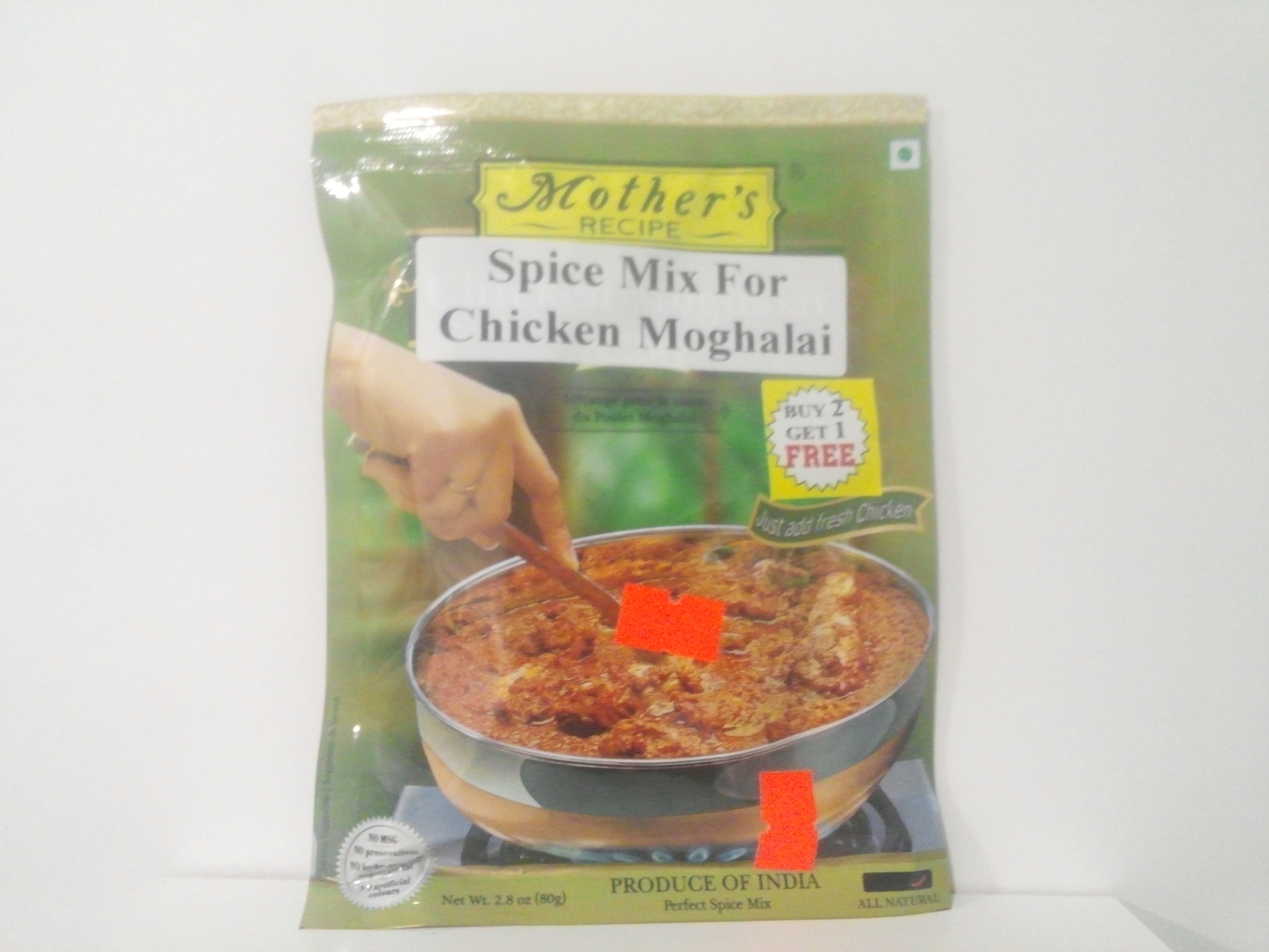 Mother's Chicken Moghalai  Mix 80 grm