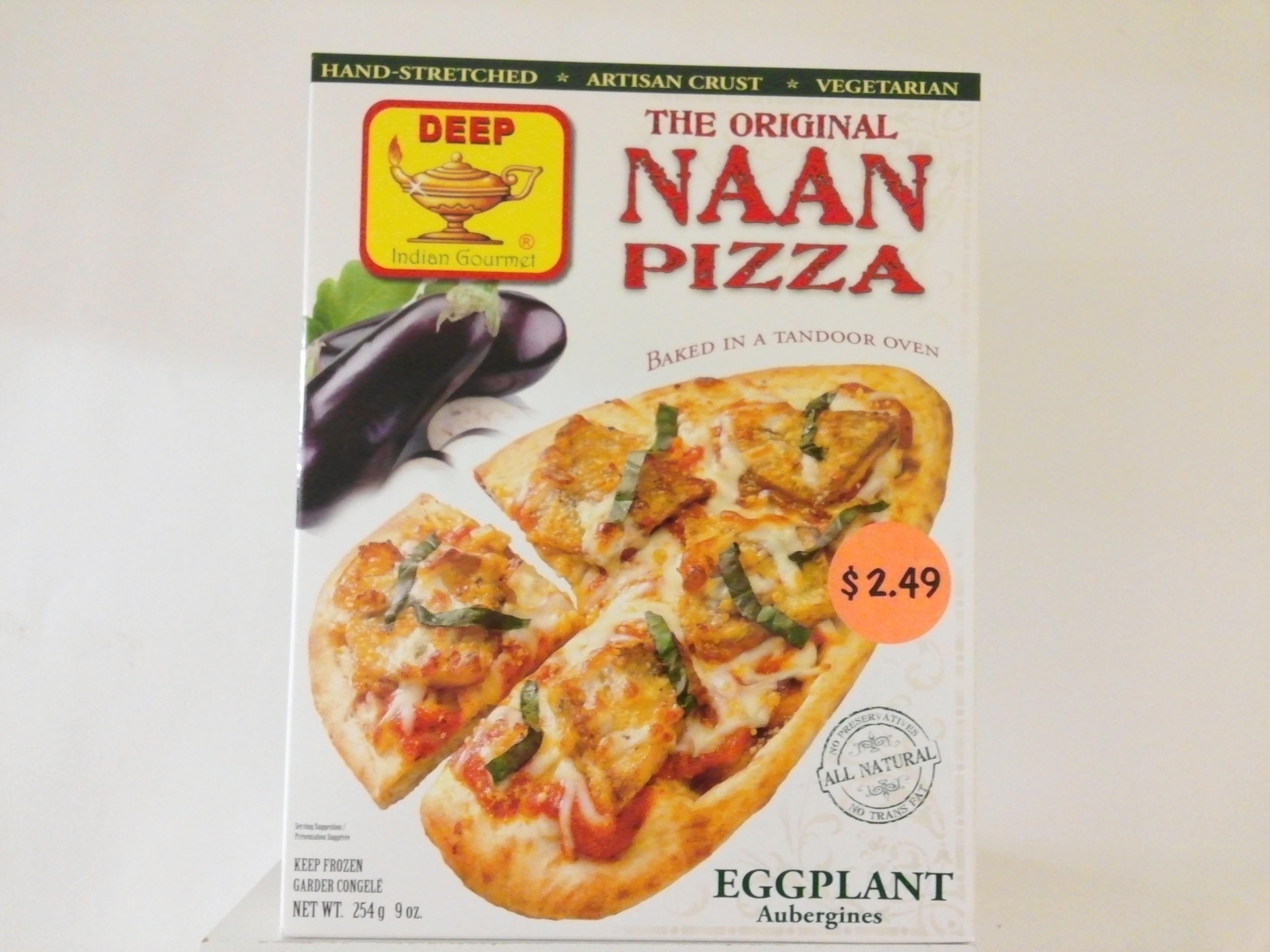 Deep's The Original Pizza ( Egg Plant )  9 oz