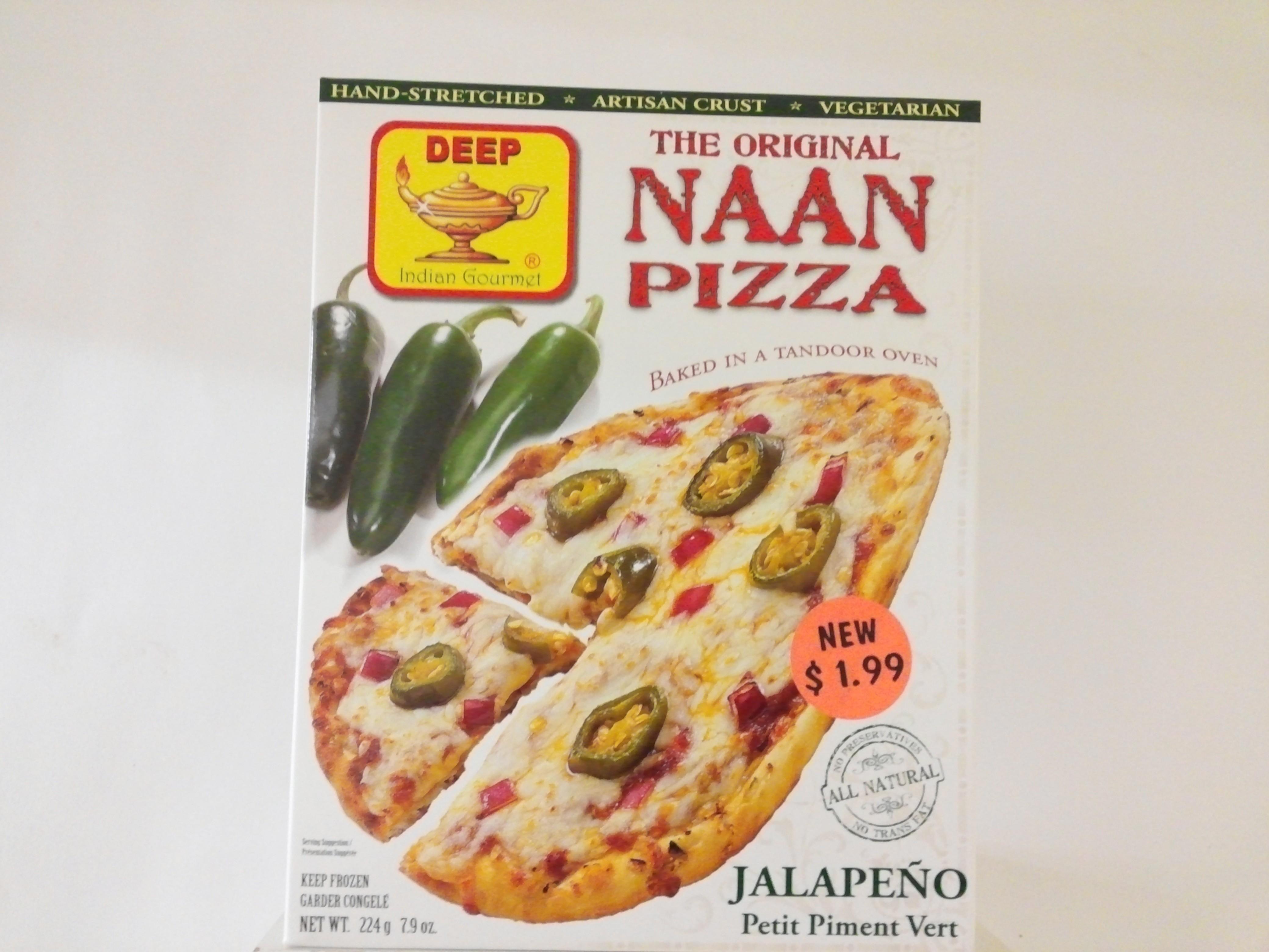 Deep's The Original Pizza ( Jalapeno )  7.9 oz