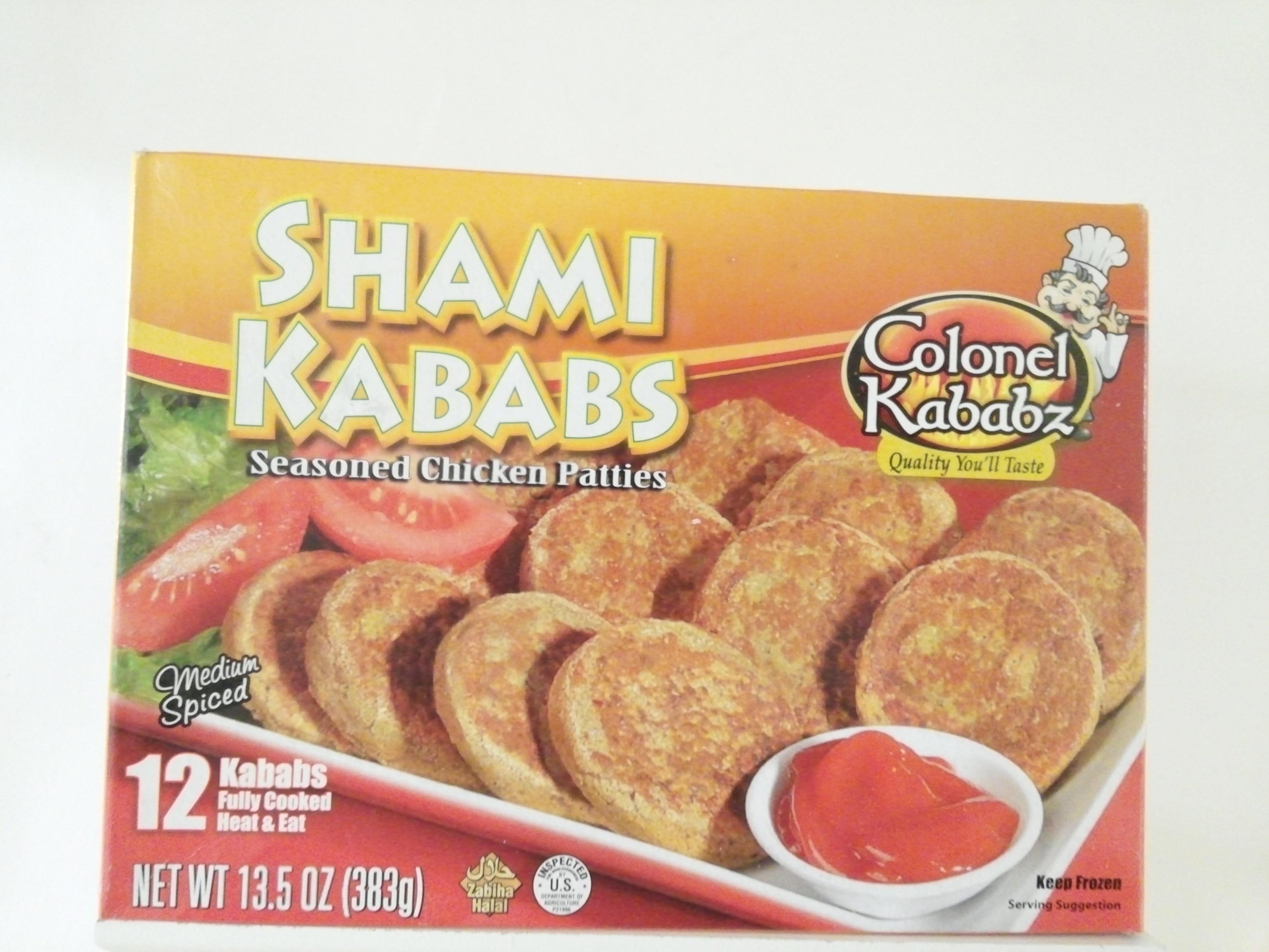 Colonel Chicken Shami Kabab 12 pcs 383 grm