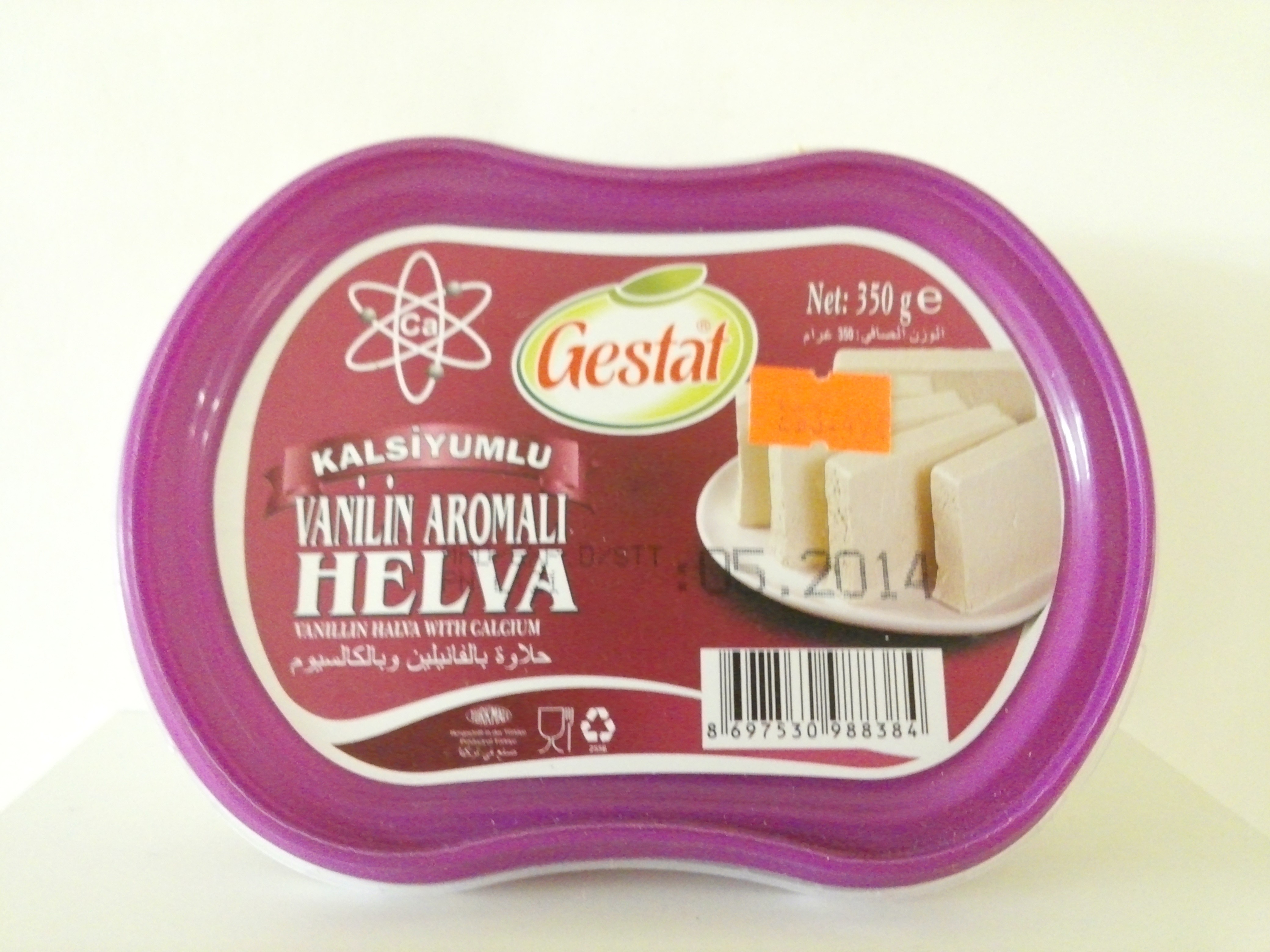 Helva Vanilla with Calcium 350 grm