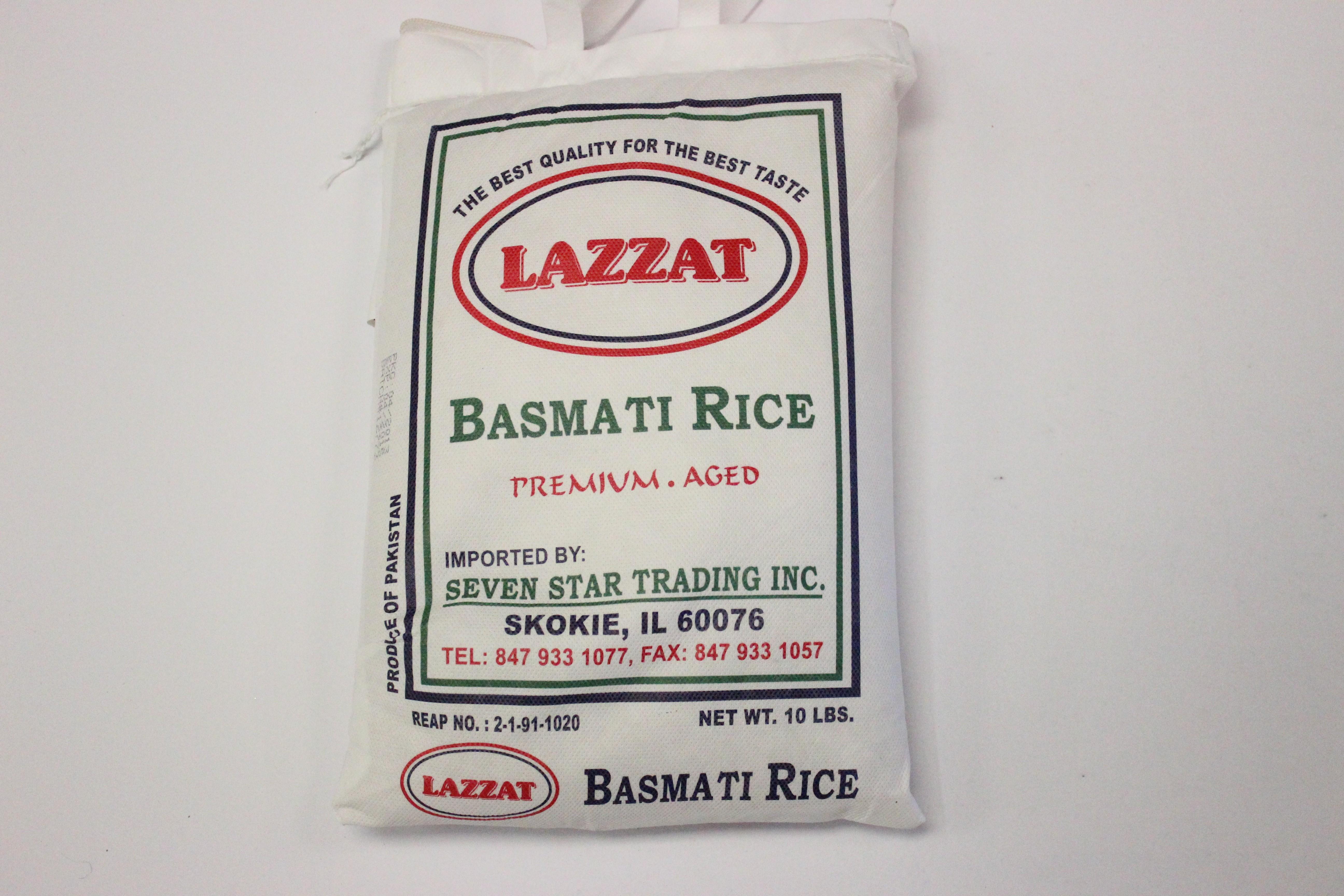 Lazzat Basmati Rice 10lb