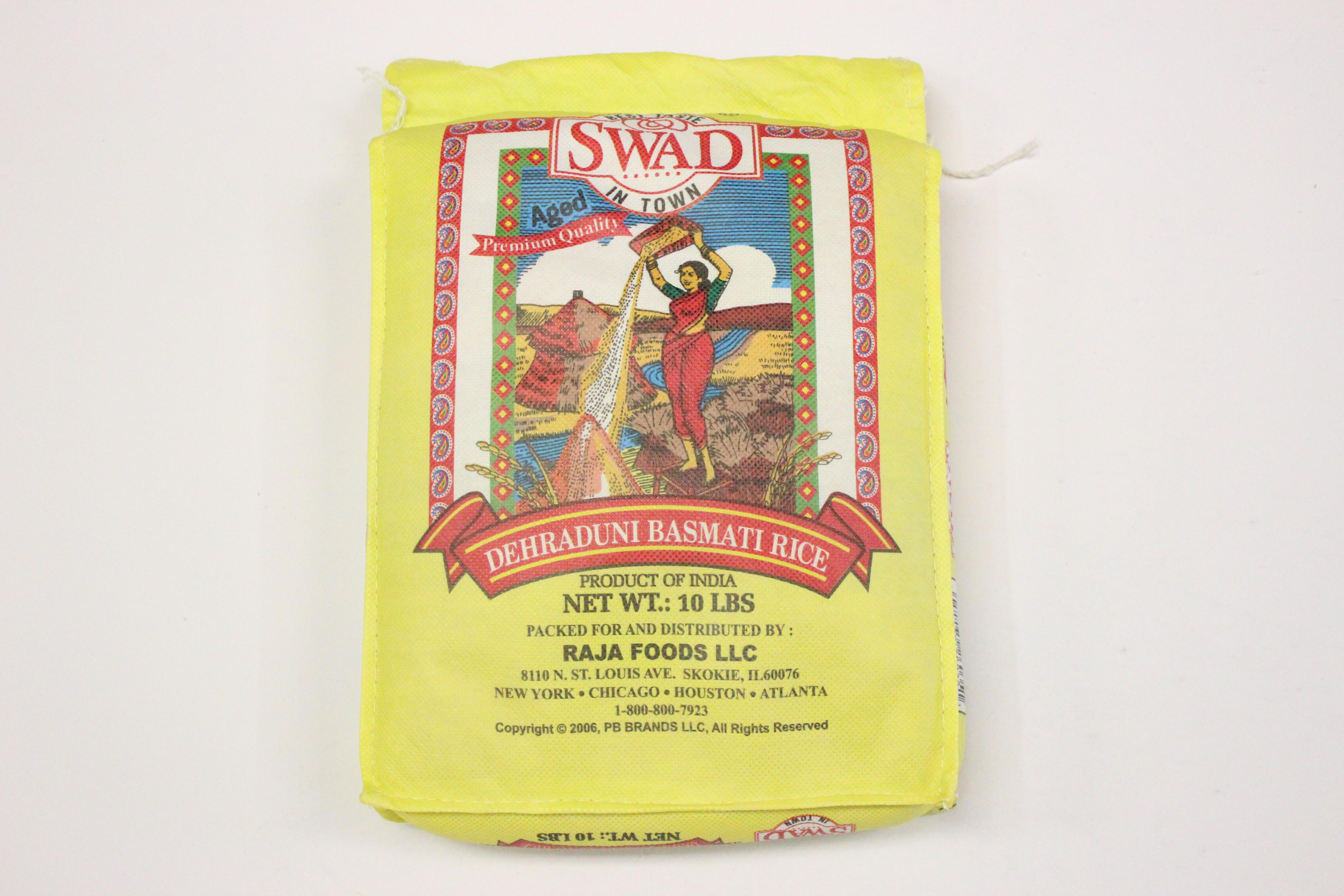 Swad Basmati Rice 10lb