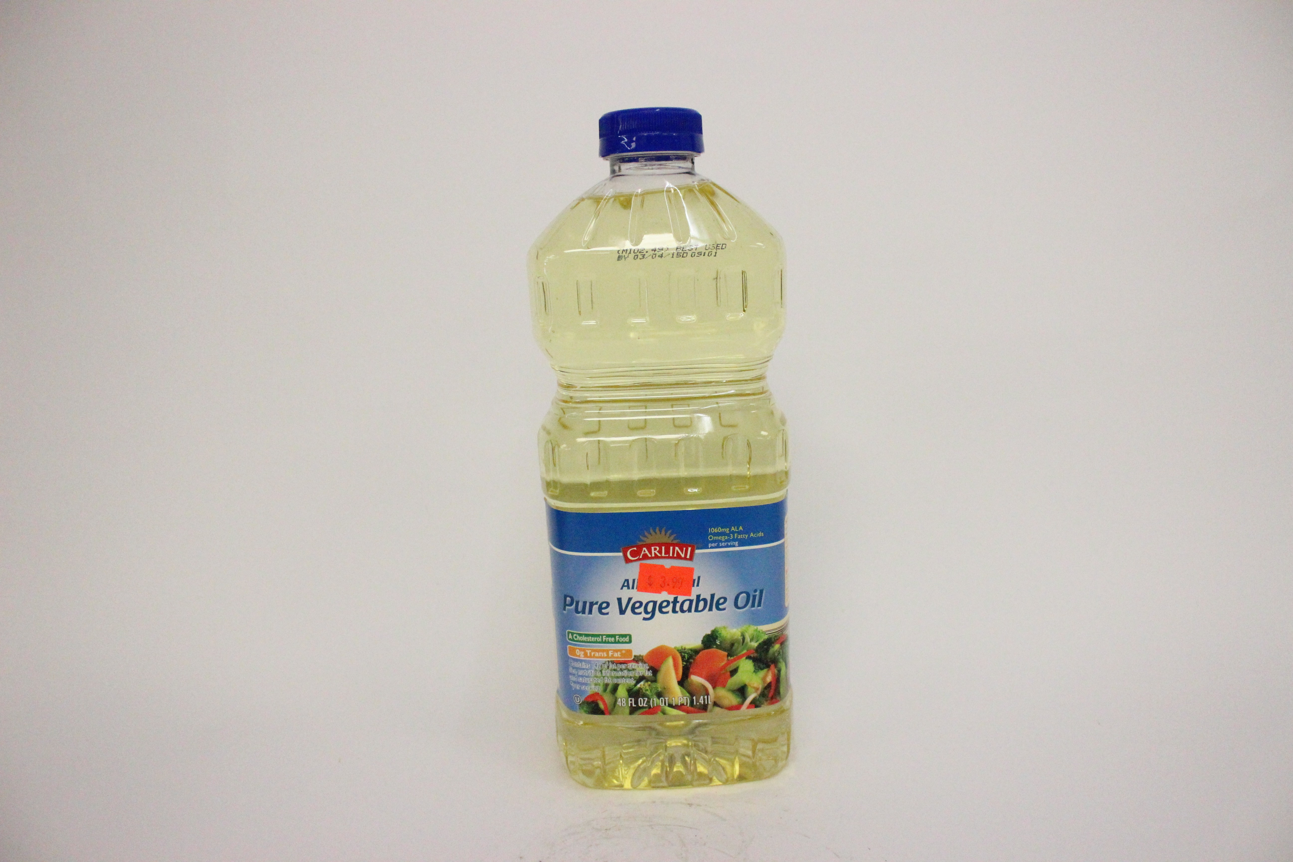 Carlini Pure Vegetable Oil 48 oz