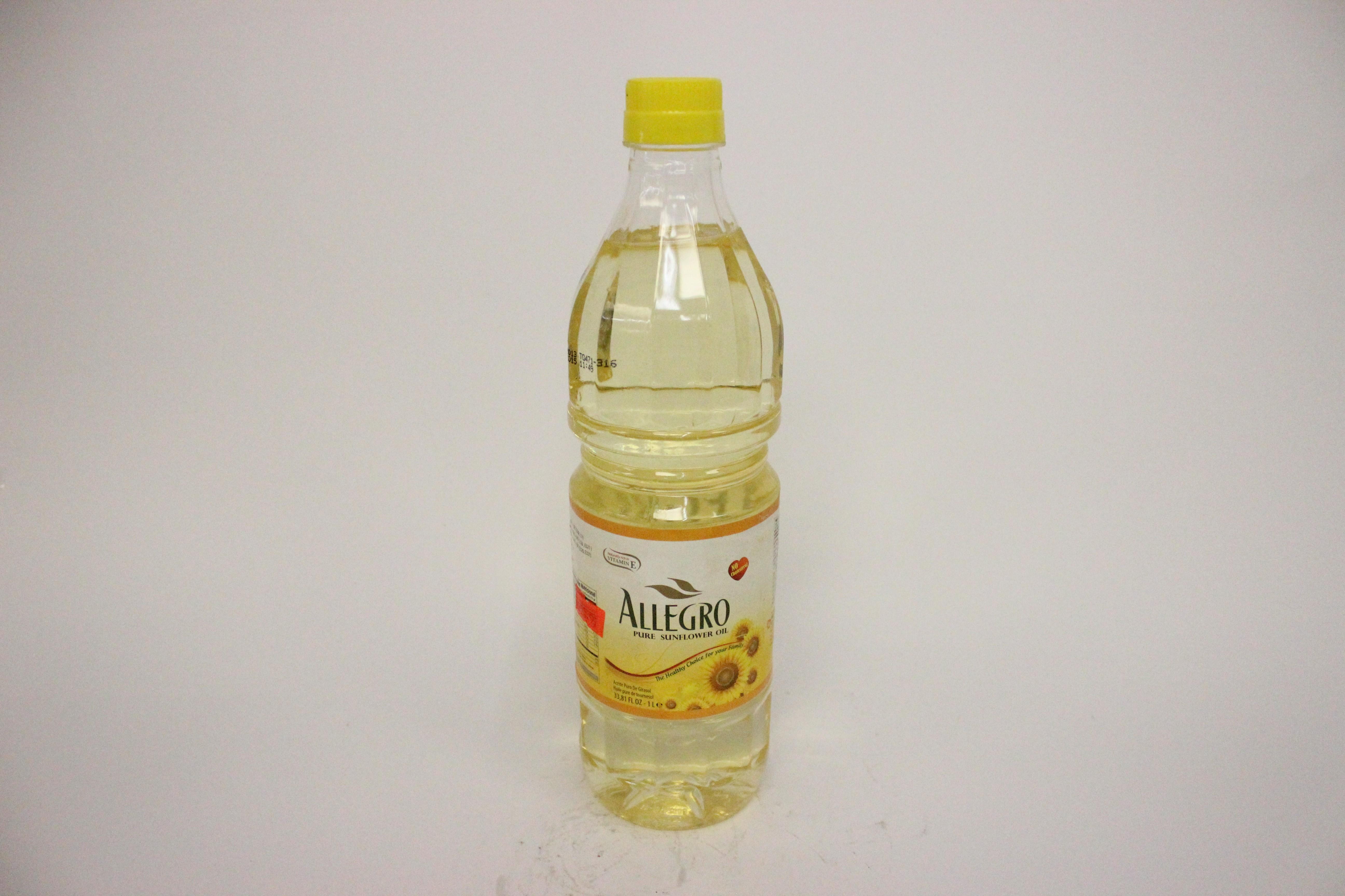 Allegro Pure Sunflower Oil 1 L