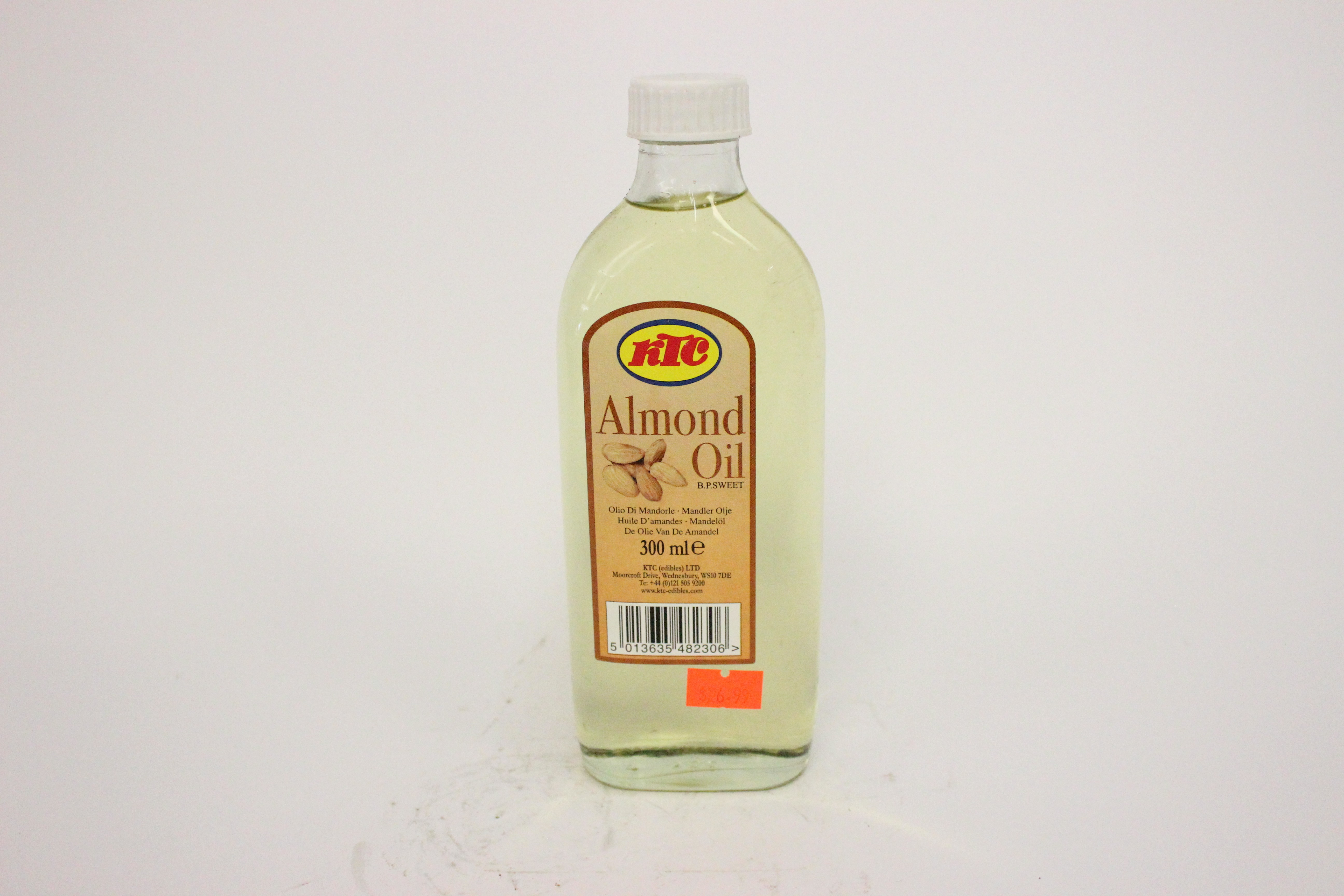 KTC Almond Oil 300 ml
