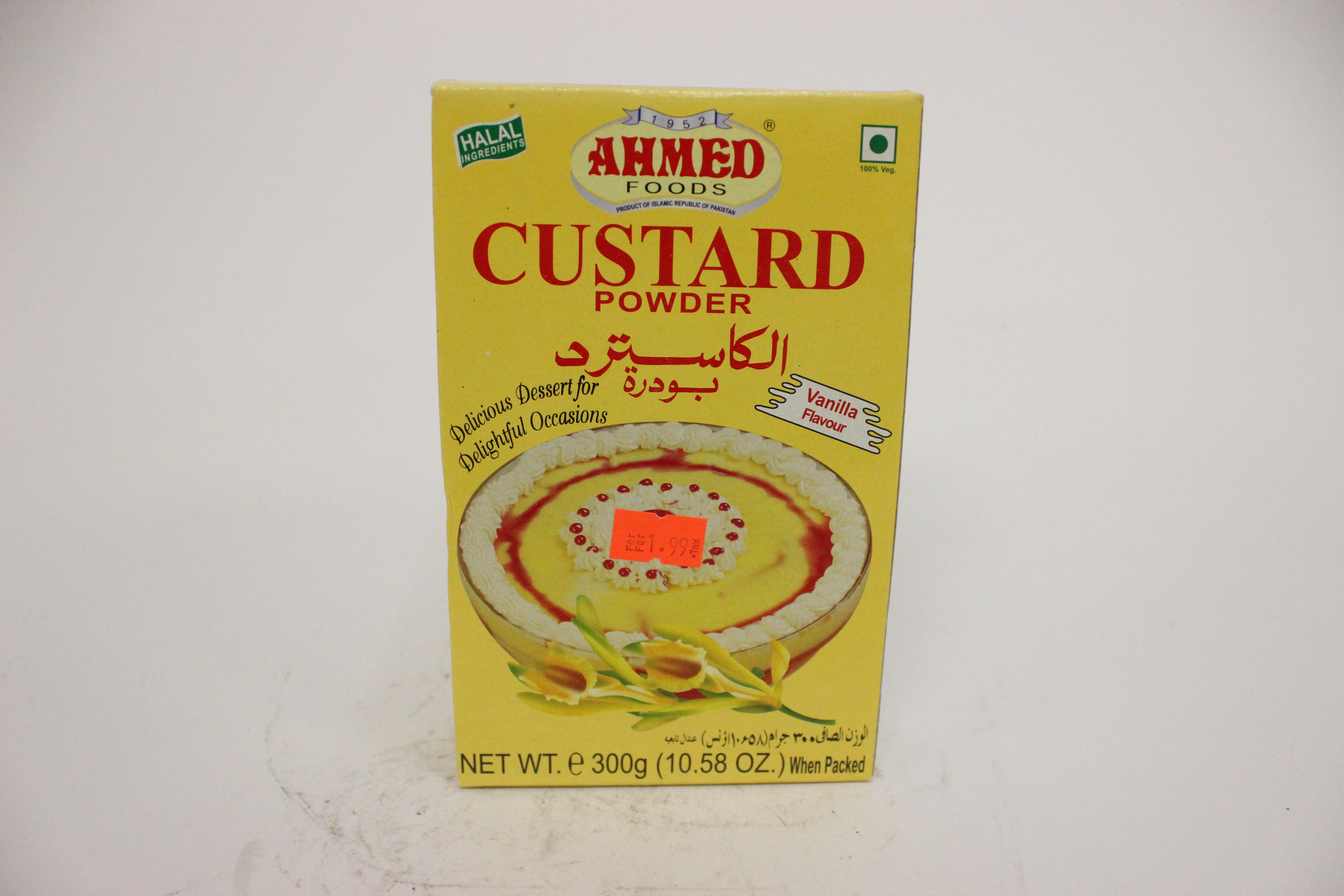 Ahmed Custard Powder Vanilla Flavour 300 grm