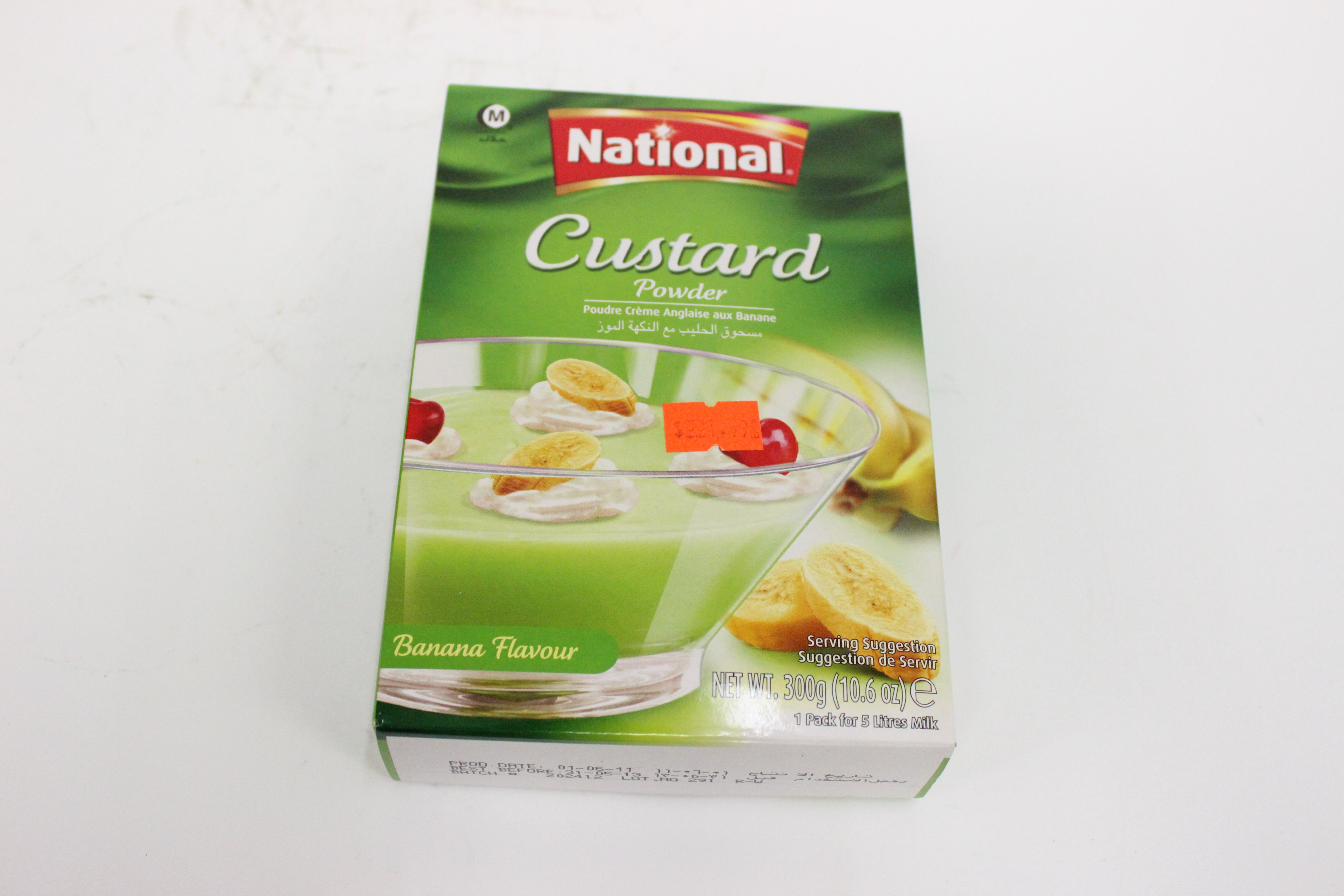 National Custard Powder Banana Flavour 300 grm