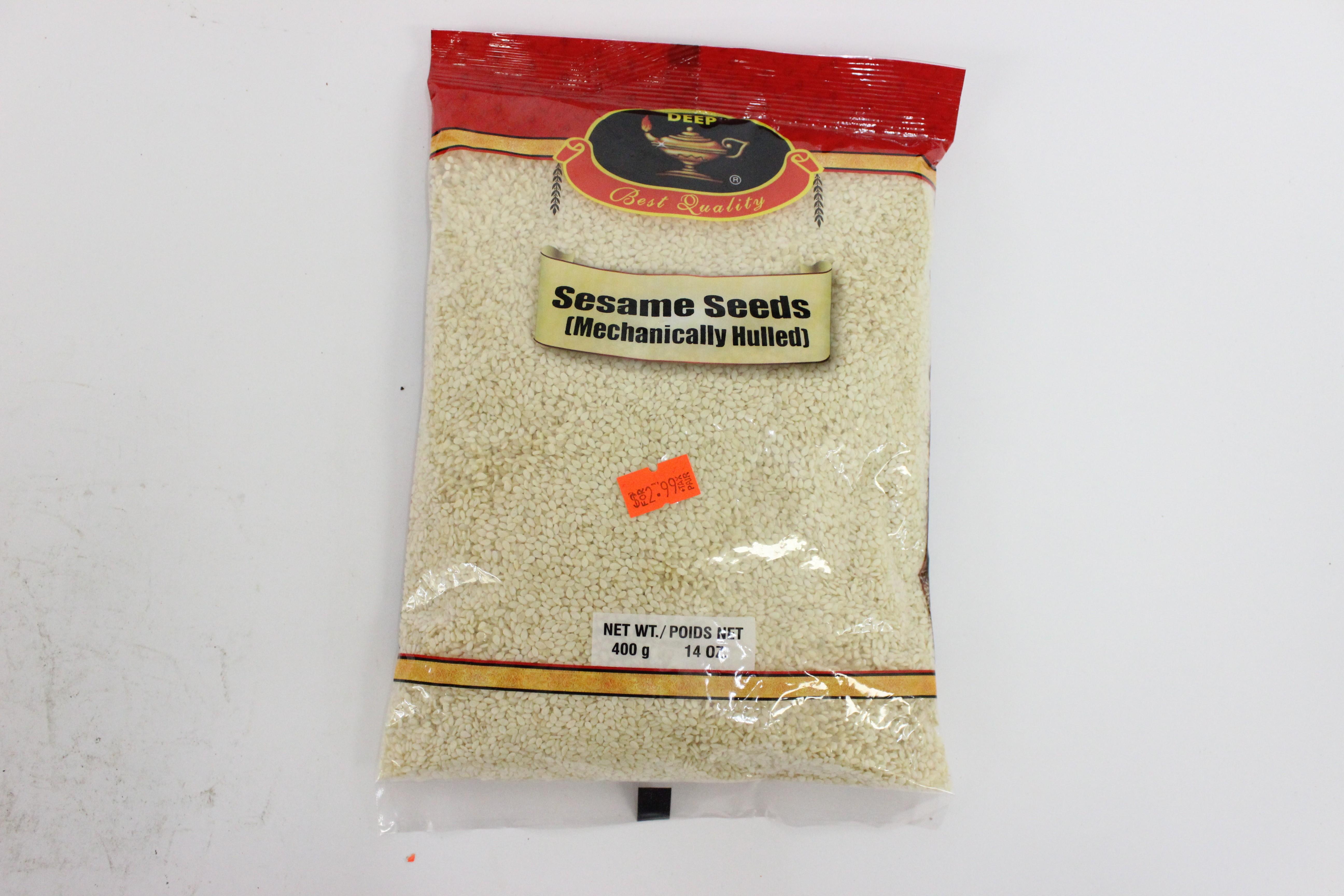 Sesame Seeds White 14 oz
