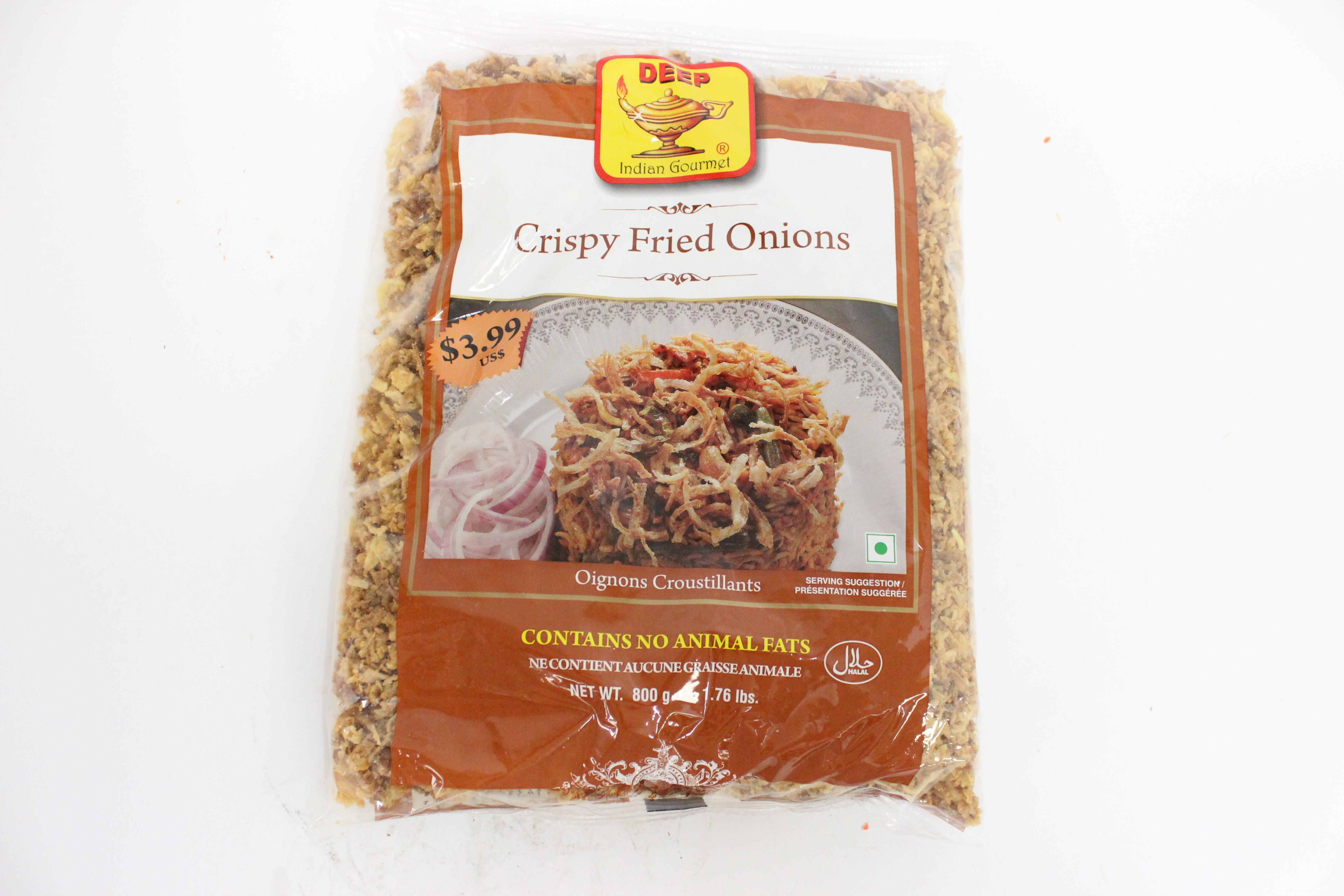 Deep Crispy Fried Onions 1.76 lbs