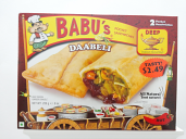 Babu's Daabeli Pocket Sandwich 8 oz