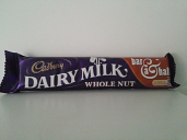 Cadbury Dairy Milk Whole Nut 120 grm