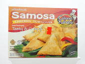 Colonel Samosa Chicken Turnover 10 pcs 11 oz