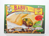 Babu's Alloo Chaat Pocket Sandwich 8 oz