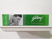 Goodrej Shaving Cream Lime Fresh 70 grm