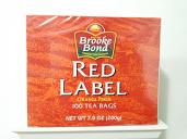 Brooke Bond Red Label  100 Tea Bags